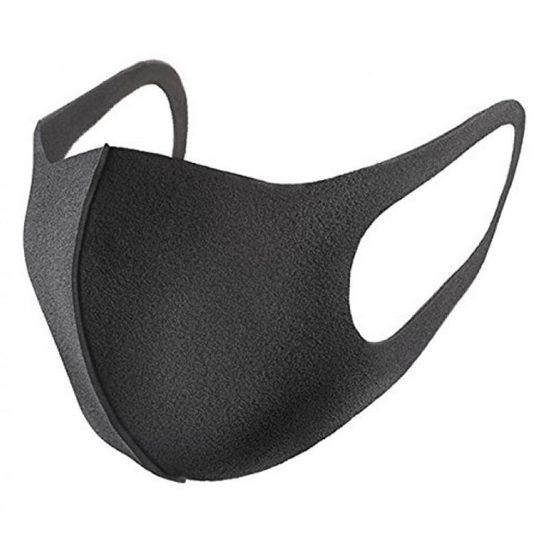 Дизайнерская защитная маска для лица Romix RH08 утолщенная (Черная)