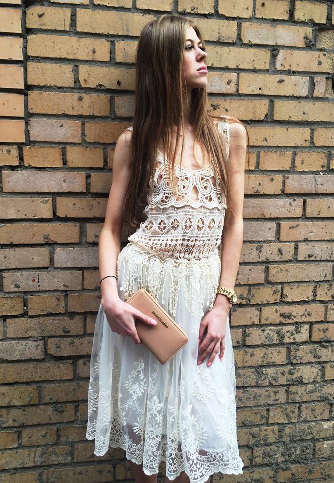Легкое и изысканное платье