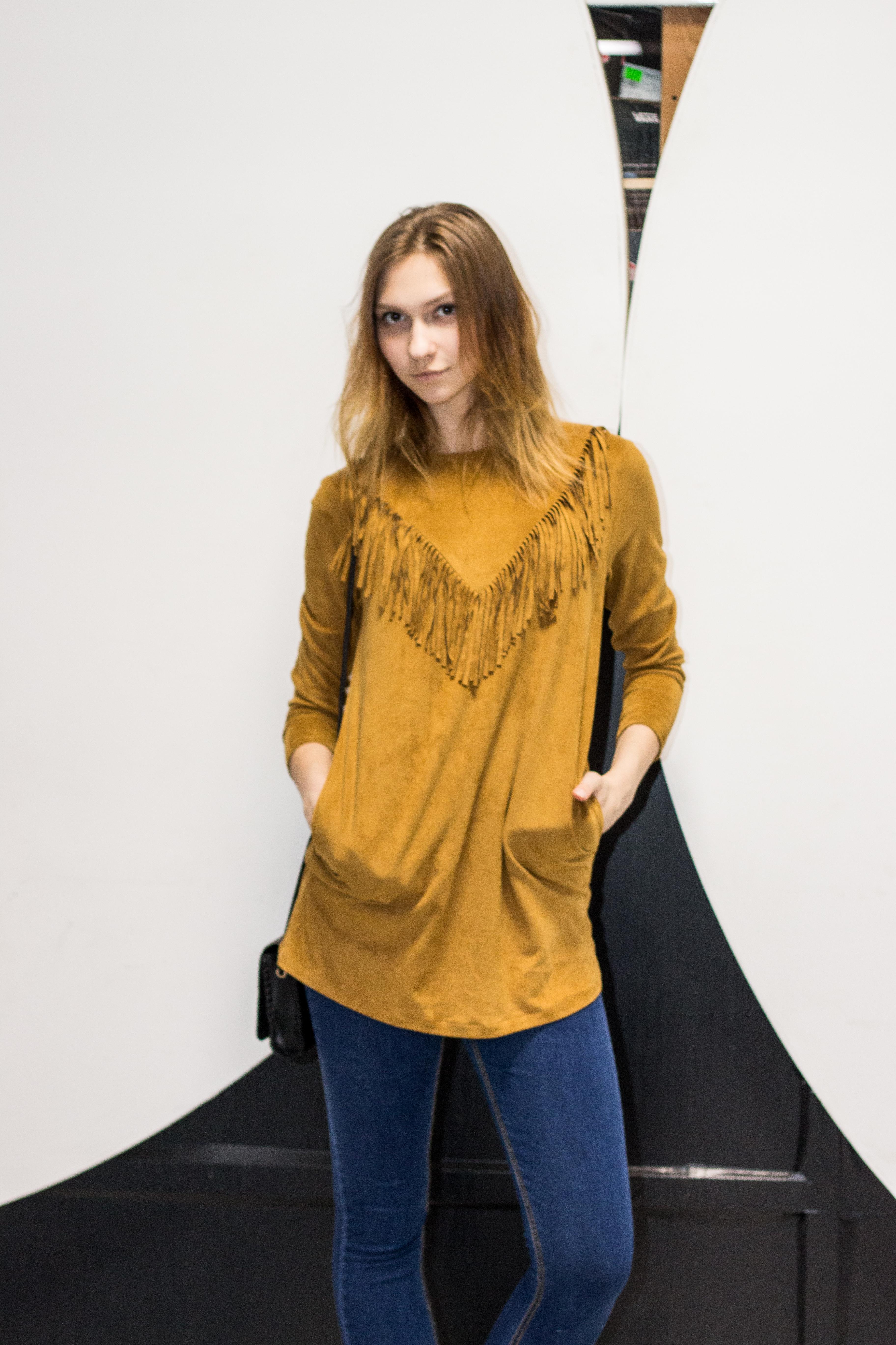 Стильное платье модель 10