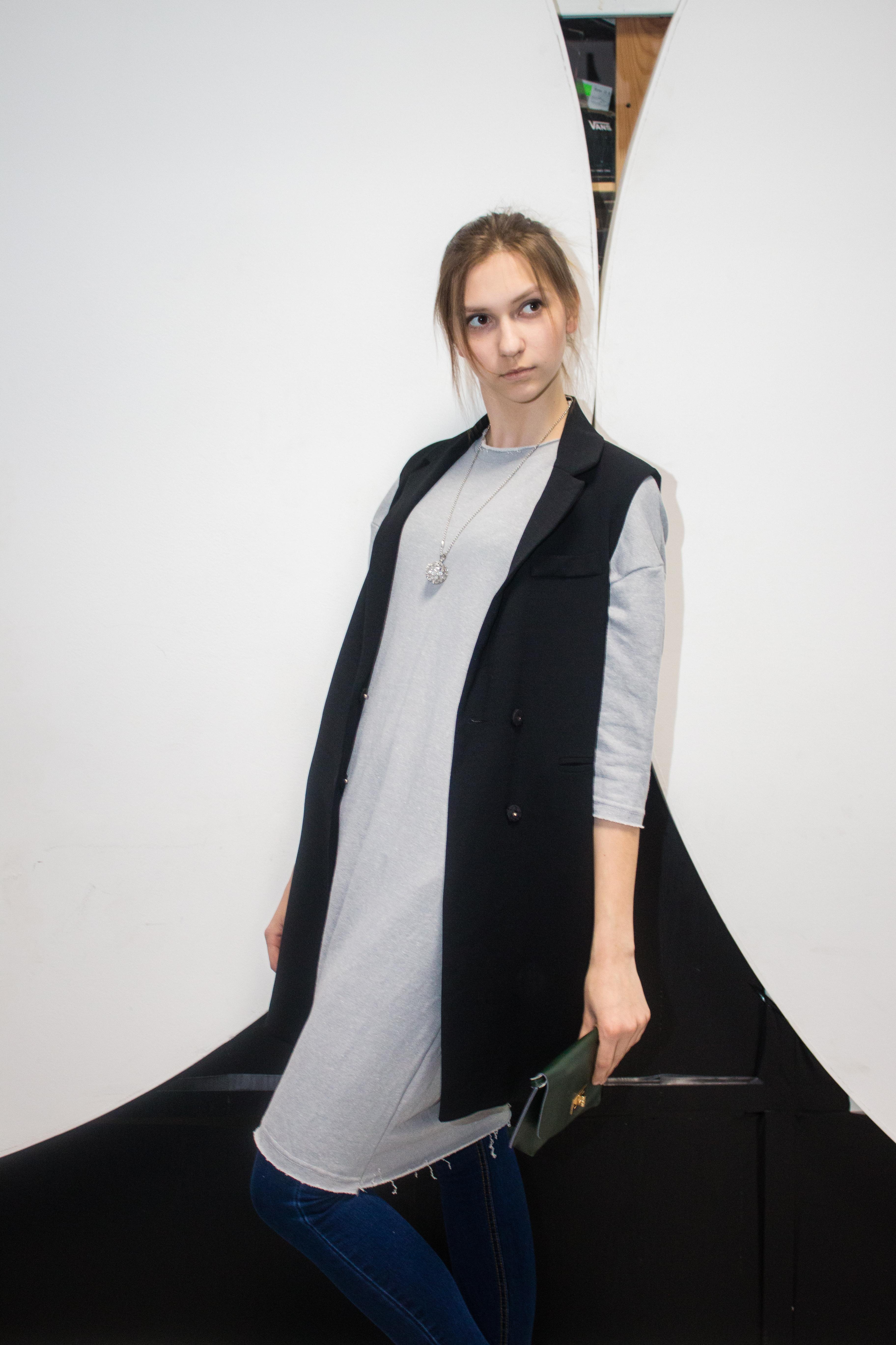 Стильное платье модель 12