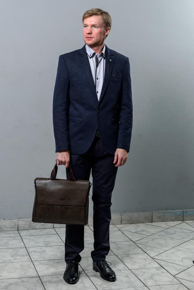 Стильный мужской пиджак модель 1