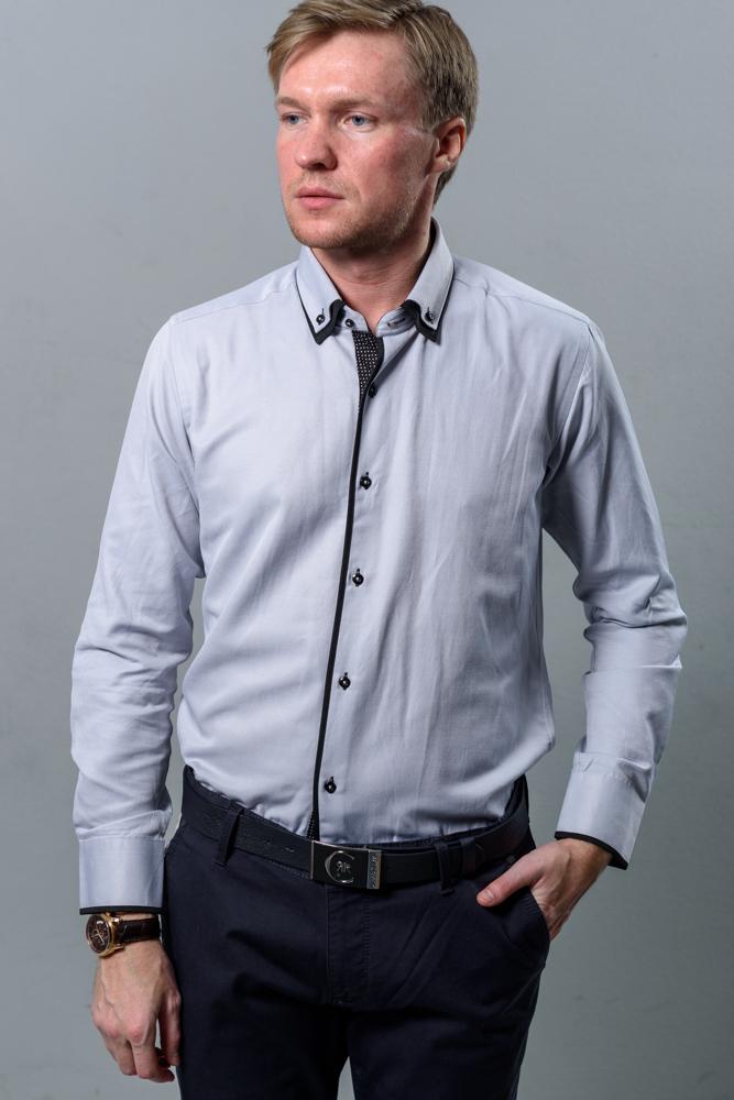 Стильная мужская рубашка модель 1