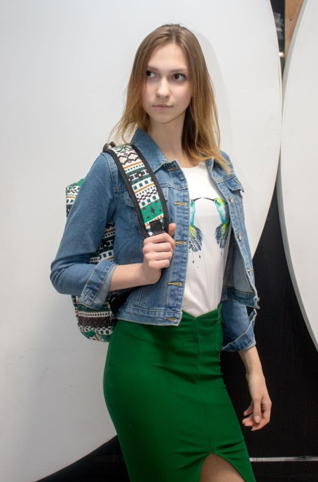 Стильная юбка модель 8