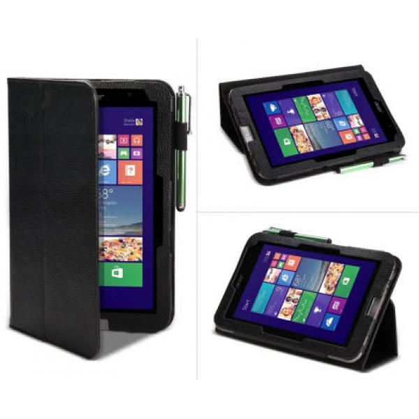 Чехол книжка Classic для планшета Acer Iconia Tab W4-820, W4-821 (Черный)
