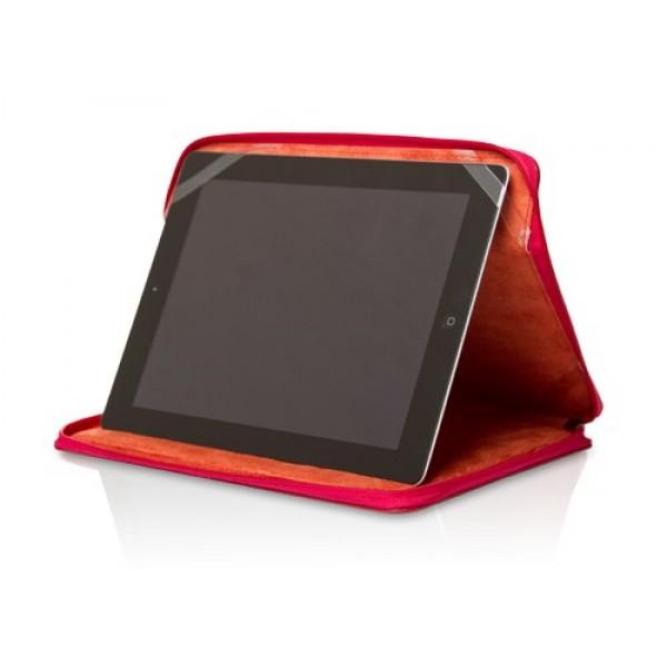 Чехол книжка с ремнем Universal для Apple iPad 2, iPad 3, iPad 4 (Красный)