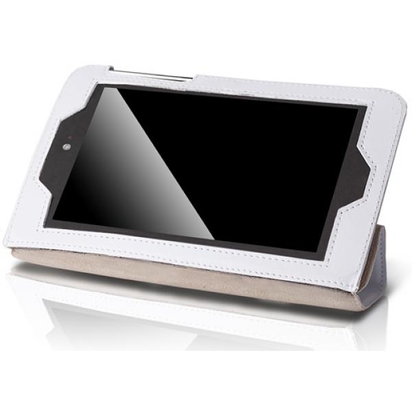 Чехол Slim для Samsung Galaxy Tab 3 7.0 SM-T210, SM-T211, Kids SM-T2105 (Белый)
