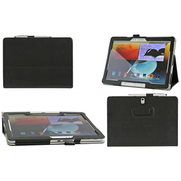 Чехол книжка для планшета Samsung Galaxy Note 10.1 2014 Edition P6000, P6010, P6020, P6050 (Черный)