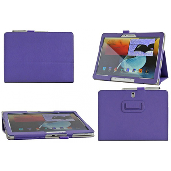 Чехол книжка для планшета Samsung Galaxy Note 10.1 2014 Edition P6000, P6010, P6020, P6050 (Фиолетовый)
