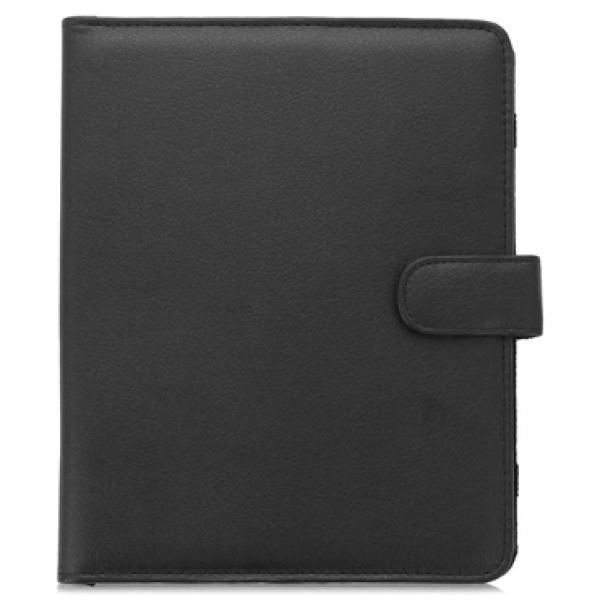 """Универсальный чехол книжка для планшетных компьютеров, планшетов 12,2"""" (Черный)"""