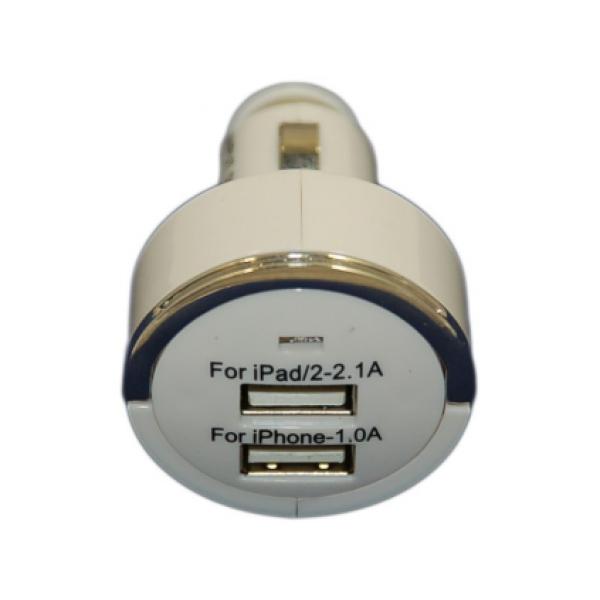 ������������� ������������� �������� ���������� 3.1A �� 2 USB ������ 1000mAh, 2100mAh (�����)