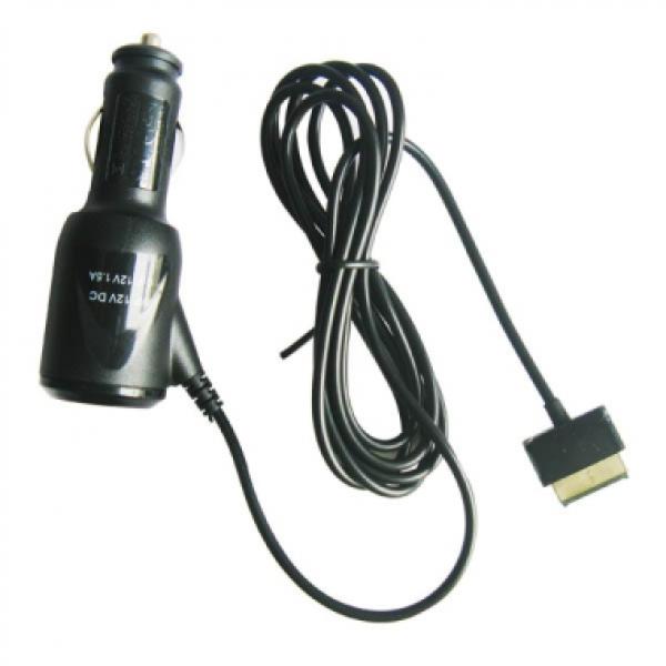 Автомобильное зарядное устройство для Asus Transformer pad TF100, TF200, TF300, TF700, SL101 15V 1.2A (Черный)
