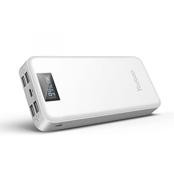 Внешний аккумулятор Yoobao LCD Power Bank M20 Plus 20000 mAh Белый