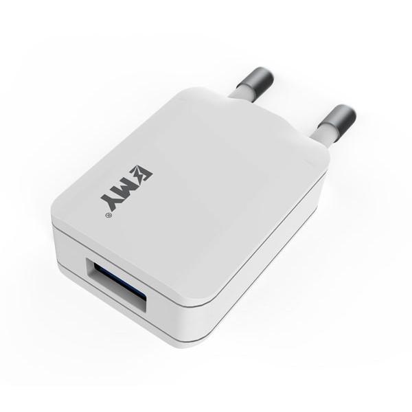 Сетевое зарядное устройство USB Emy MY-223