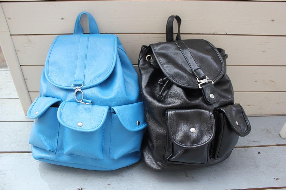 Стильный рюкзак eco-кожа
