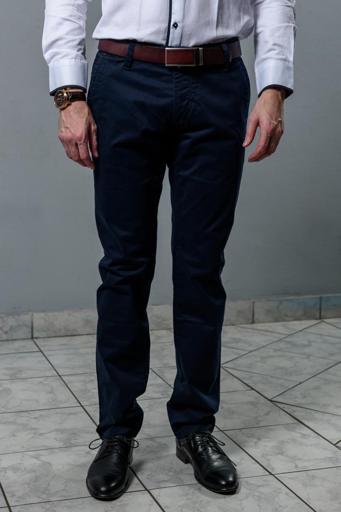 Мужские брюки синие
