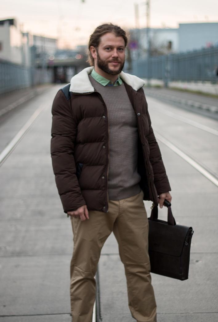 Стильная мужская куртка модель 11