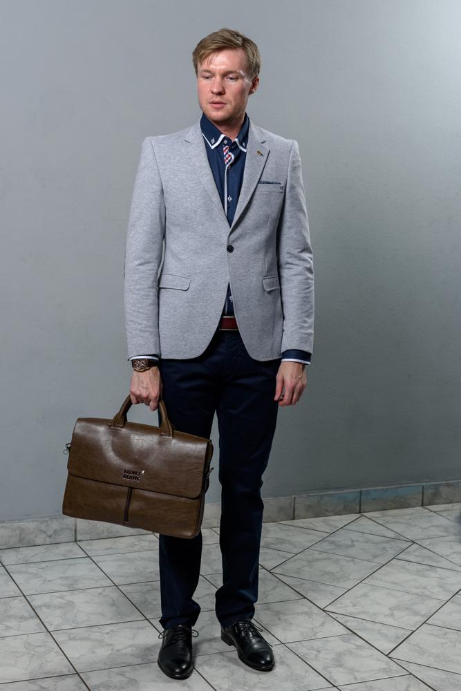 Стильный мужской пиджак модель 4